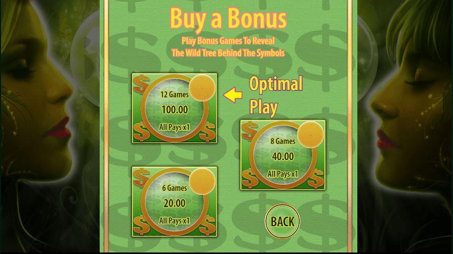 Buy a bonus in Acorn Pixie