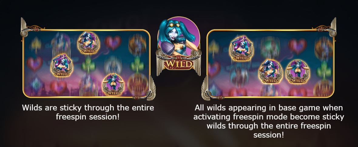 Wilds in the Free Spins