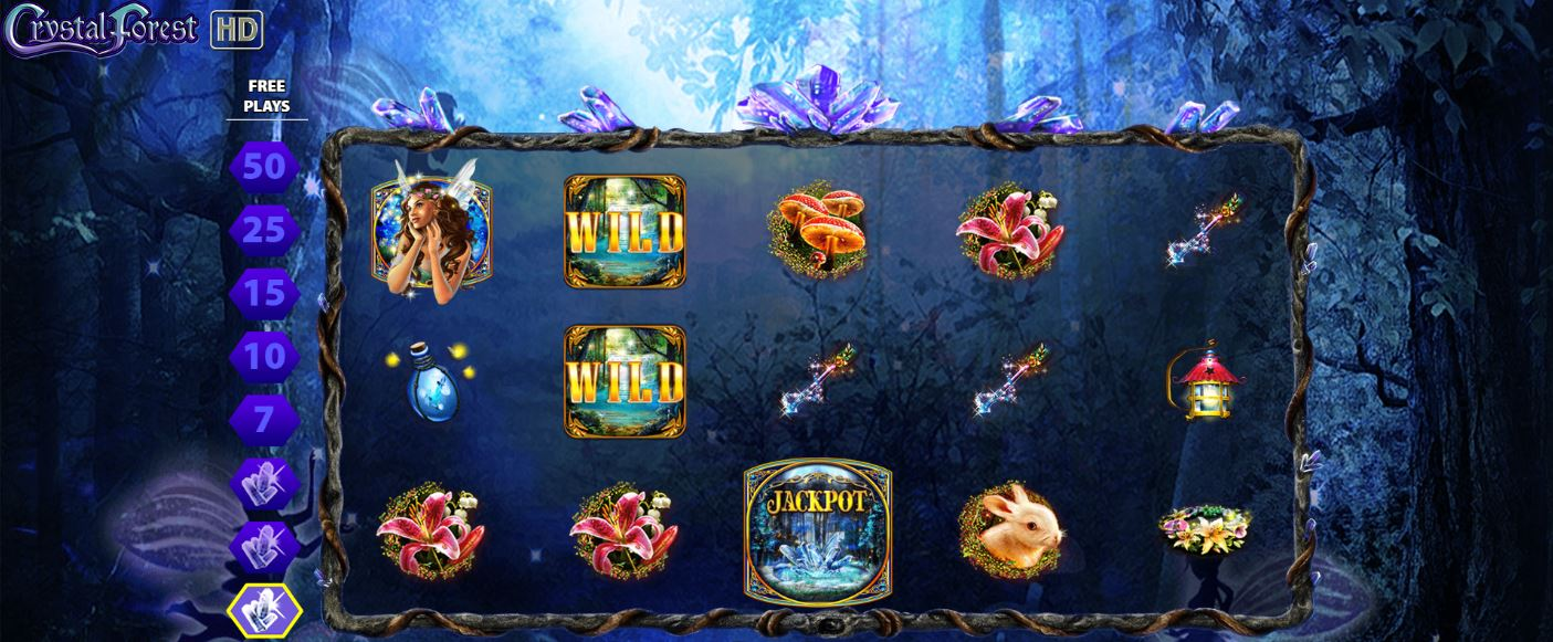 Crystal Forest Free Spins