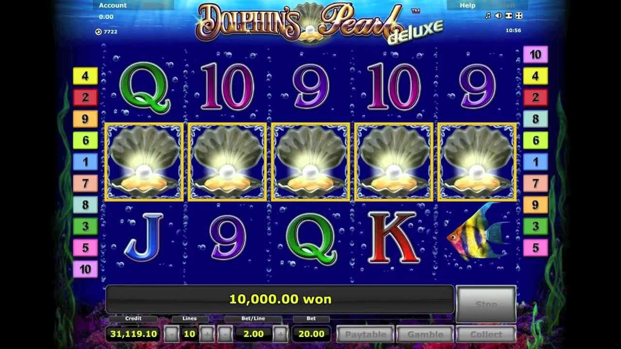 Dolphins Pearl free spins