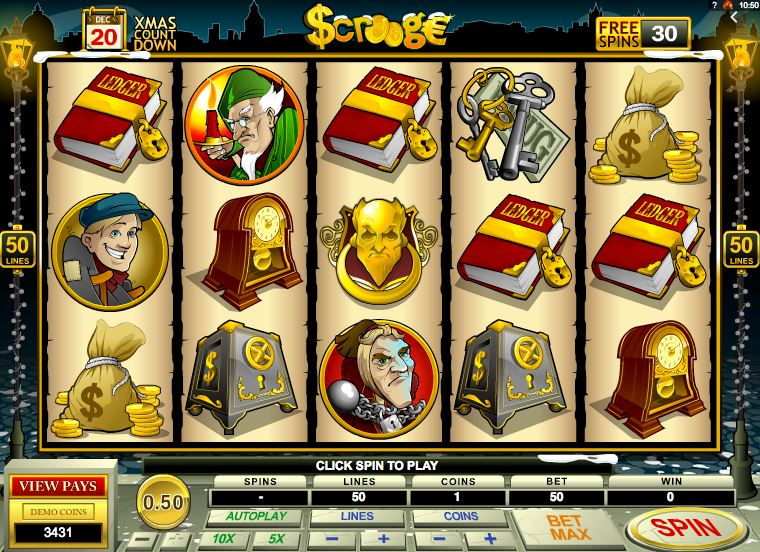 Scrooge Free Spins collection