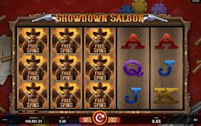 Stacked Free Spins in Showdown Saloon