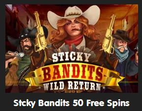Sticky Bandits promotion