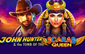 John Hunter & the tomb of the Scarab Queen