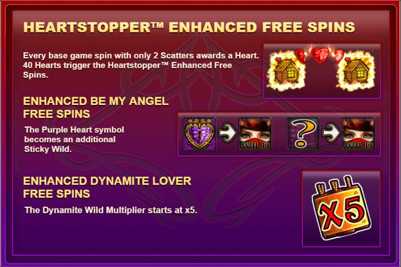 Lil Devil Big Time Gaming Heartstopper free spins