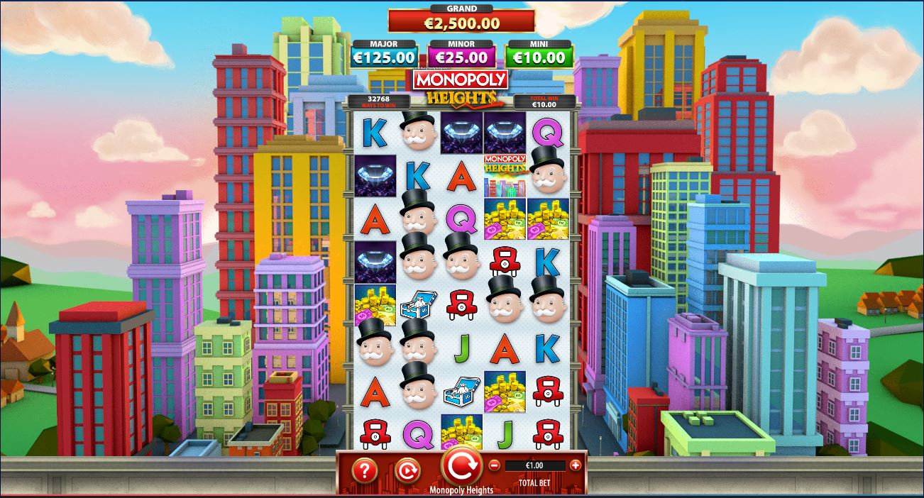 Monopoly Heights moneybags extend 10x