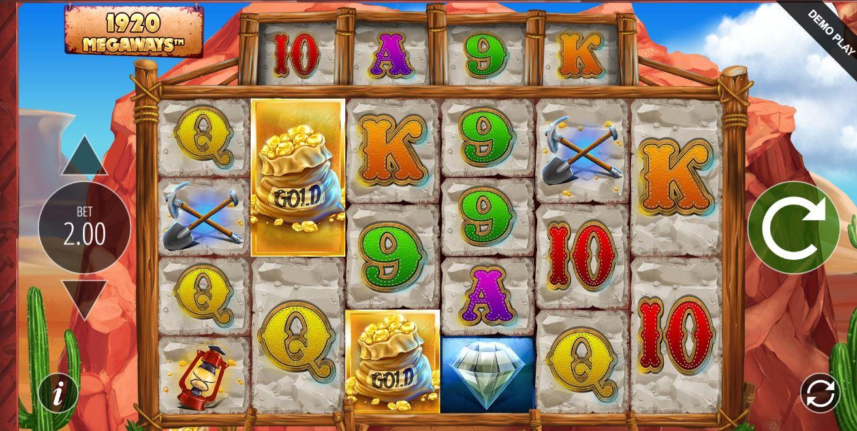 Base Game in diamond mine