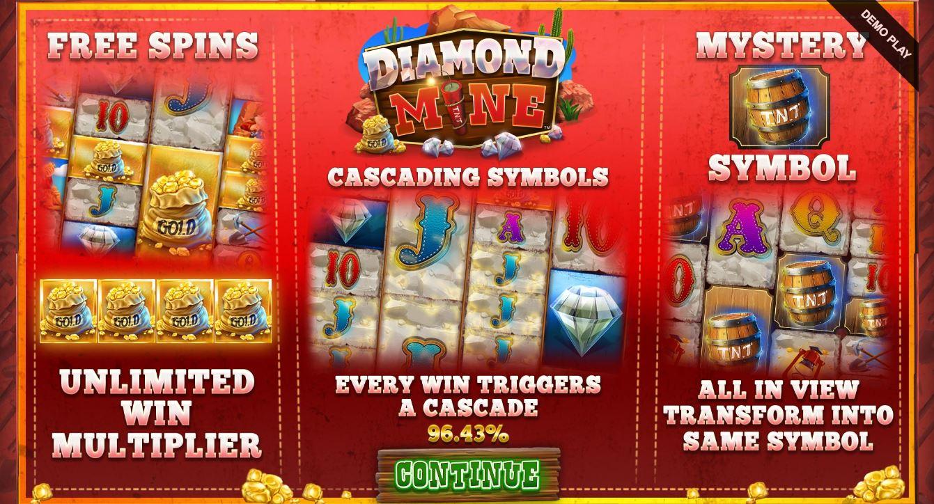 Diamond Mine Features