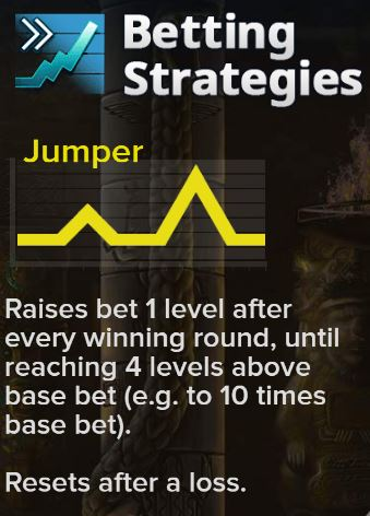 Betting Strategy Jumper