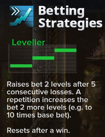 Betting Strategy Leveller