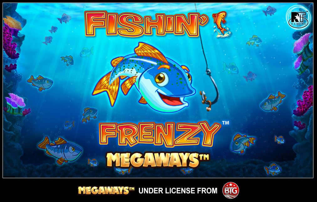 Loading Screen in Fishin' Frenzy Megaways