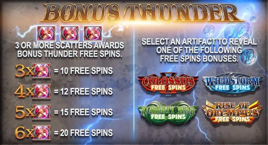 Bonus Thunder