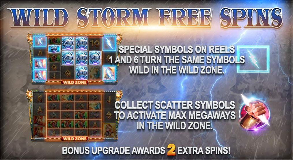 Wild Storm Free Spins