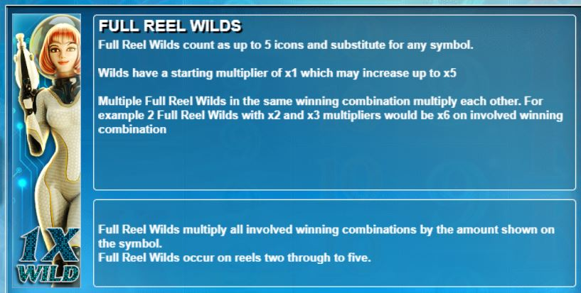 Full Reel Wilds in Star Quest