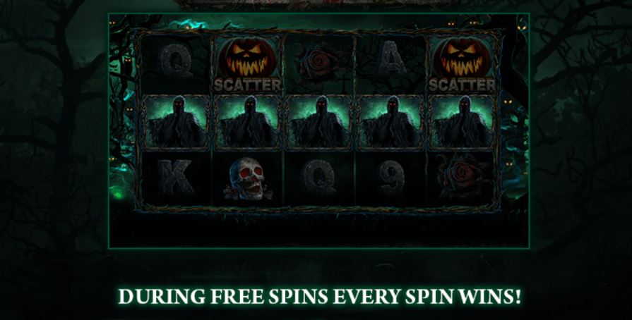 Helloween fever every spin wins feature