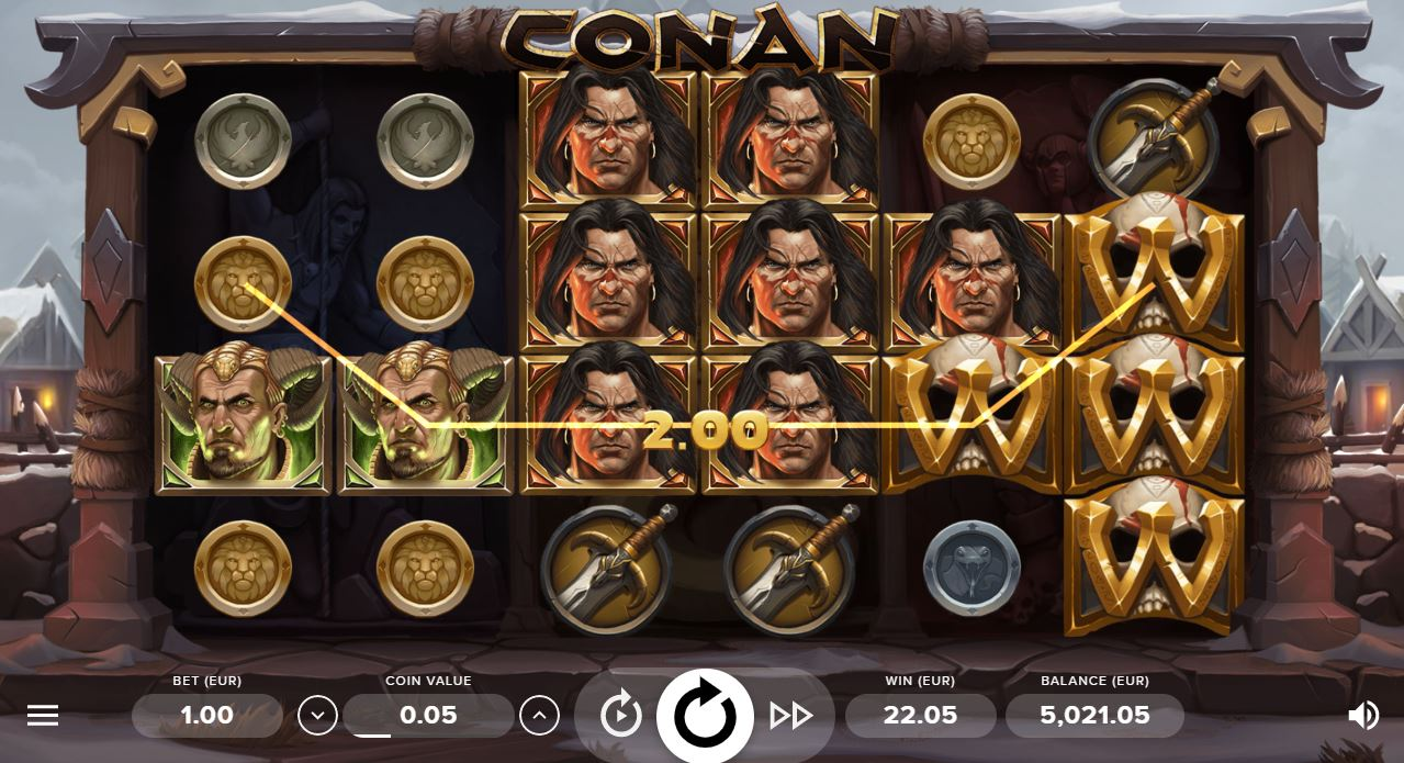 Netent Conan Coins