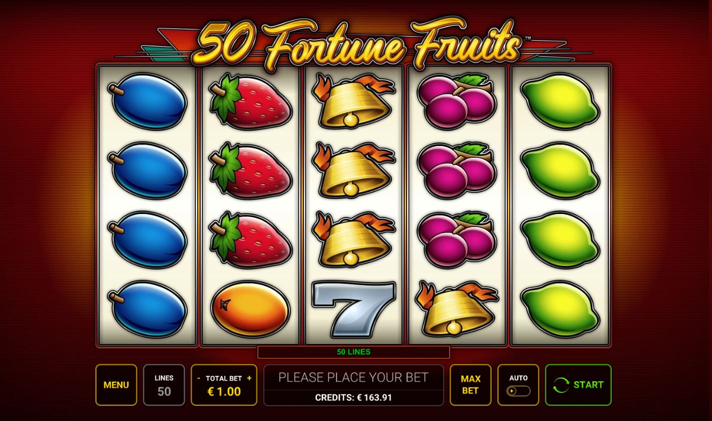 50 fortune fruits base game