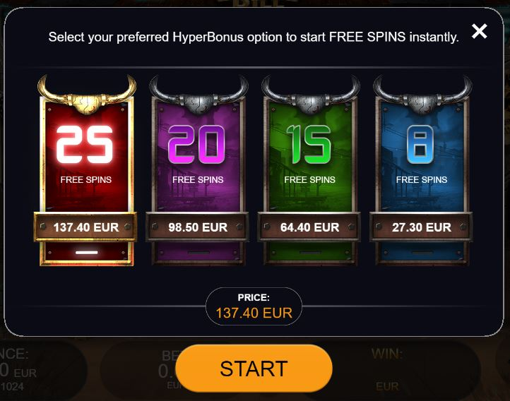 big bounty bill hyper bonus buy in