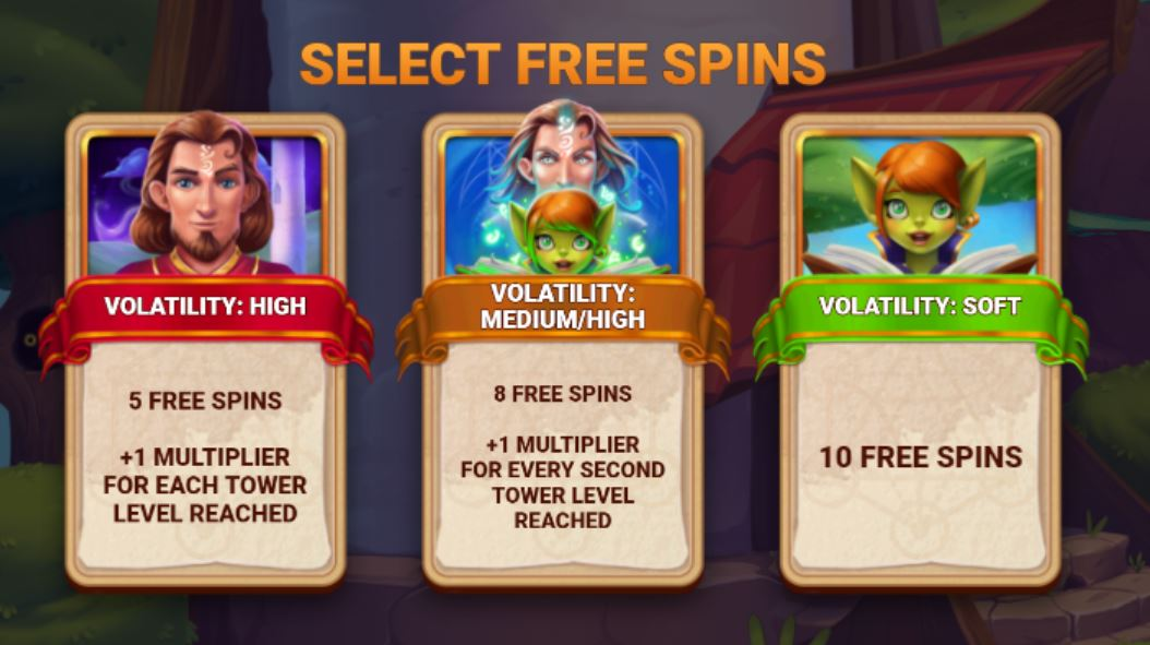 tower tumble select free spins